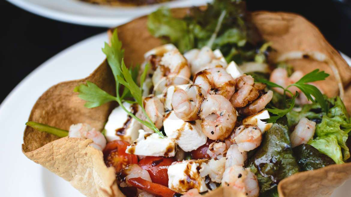 Shrimp Po' Boy Flatbread